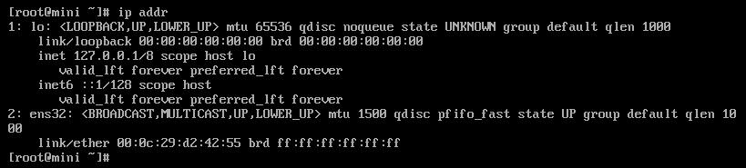 centos7修改IP地址(静态和动态)